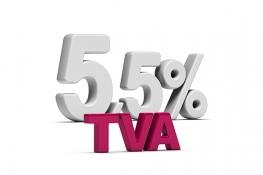Prix au taux de TVA réduit de 5.5% au lieu de 20% en 2017